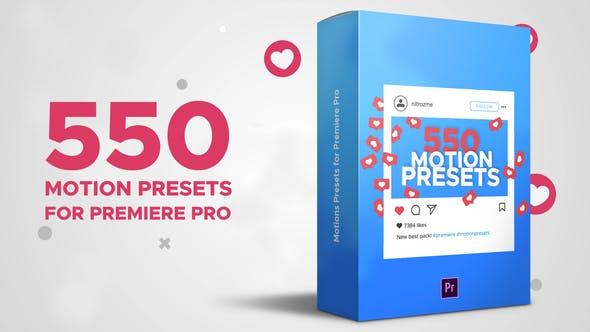 Motion Presets for Premiere Pro