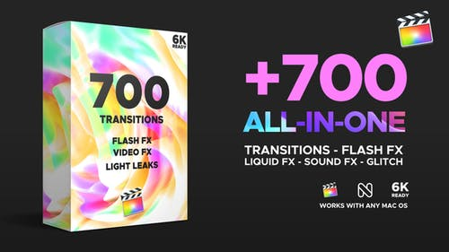 Transitions for Final Cut Pro X & Apple Motion