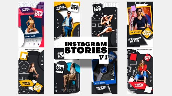Thumbnail for Fashion Sale Instagram Stories