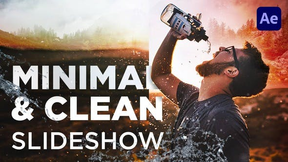 Thumbnail for Minimal & Clean Slideshow