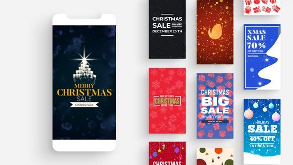Historias de Instagram de Navidad