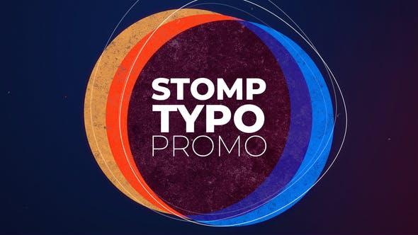 Stomp Typo Promo