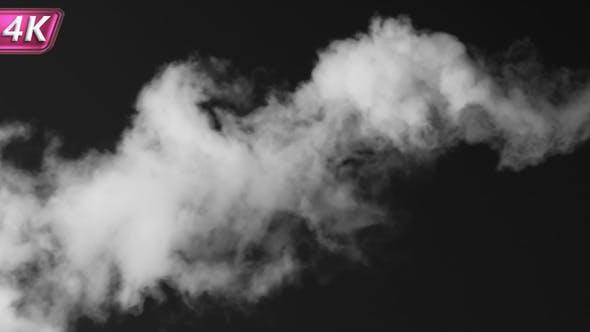 Thumbnail for White Smoke Flows Horizontally