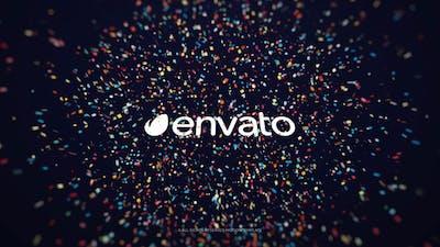 Confetti Burst - Logo Reveal // Premiere Pro