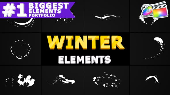 Winter Elements Pack | FCPX