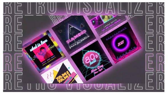 Retro Music Visualizer Instagram
