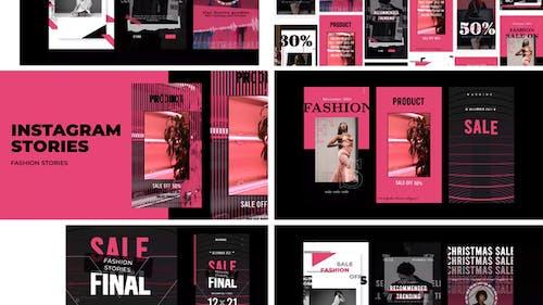 Mode Verkauf Geschichten Instagram