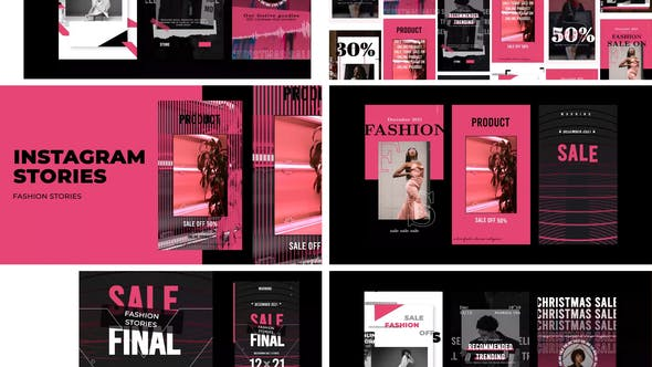Thumbnail for Vente de mode Histoires Instagram