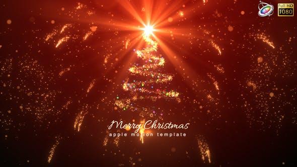Christmas Logo - Apple Motion