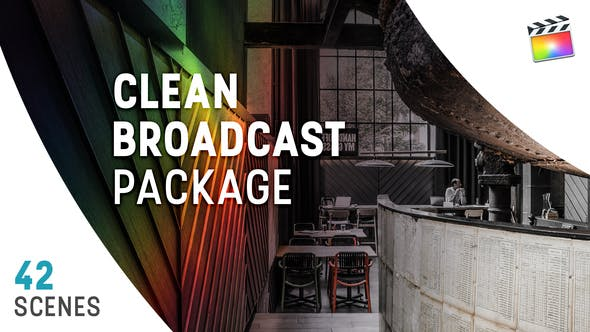 Paquete Clean Broadcast | Para Final Cut y Apple Motion