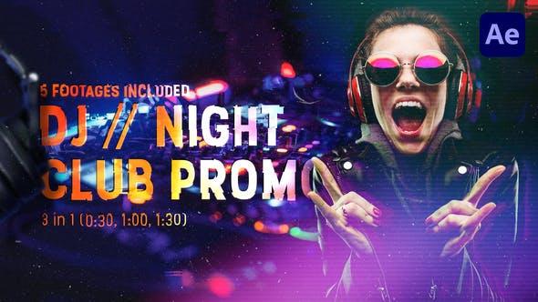 Thumbnail for DJ // Noche Club Promo