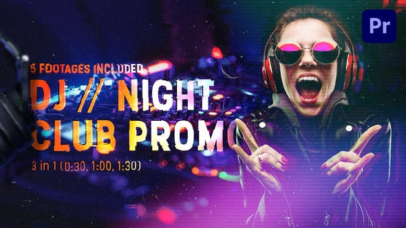 DJ // Night Club Promo