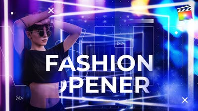 Fashion Opener  | For Final Cut & Apple Motion