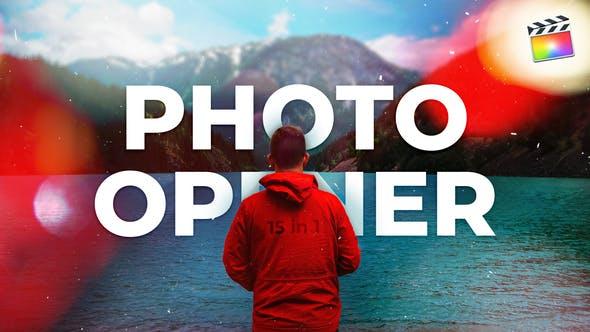 Thumbnail for Ouvre-photo | Pour Final Cut & Apple Motion