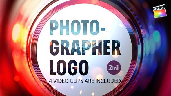 Thumbnail for Logo du photographe | Pour Final Cut & Apple Motion