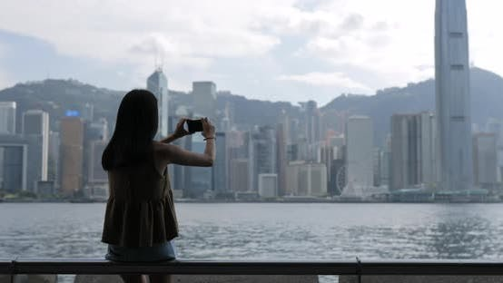 Cover Image for Woman travel in Hong Kong