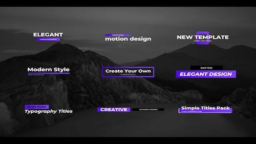 Simple Creative Titles