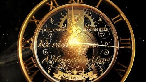New Year Countdown Clock 2021 V2