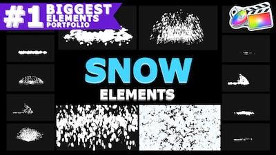 Cartoon Snowflakes   FCPX