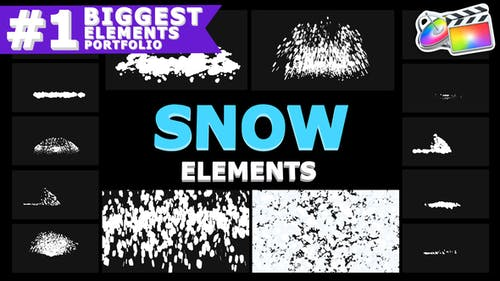 Cartoon Snowflakes | FCPX