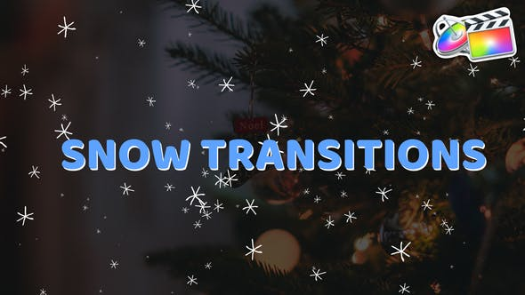 Snow Transitions And Backgrounds | FCPX