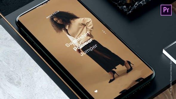 Thumbnail for Drop - Instagram Stories 1.0 - for Premiere Pro   Essential Graphics