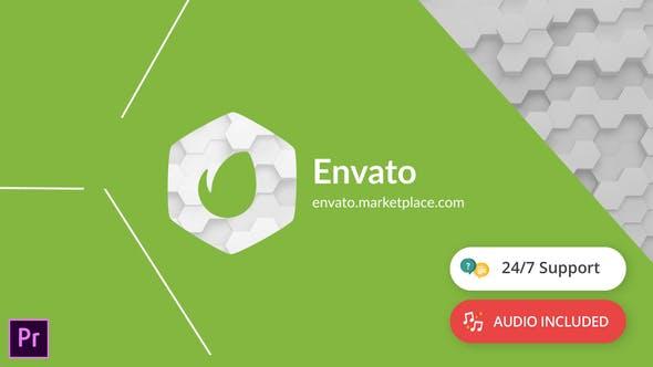 Thumbnail for Révélation du Logo des formes | Pour Premiere Pro