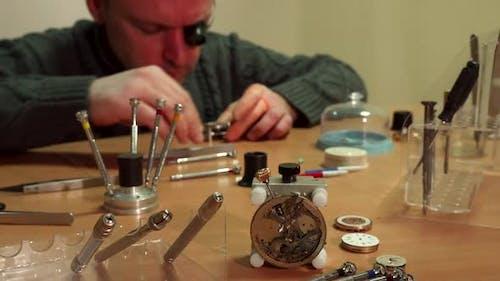 Watchmaker Repaires Repeater