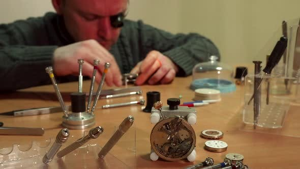Thumbnail for Watchmaker Repaires Repeater