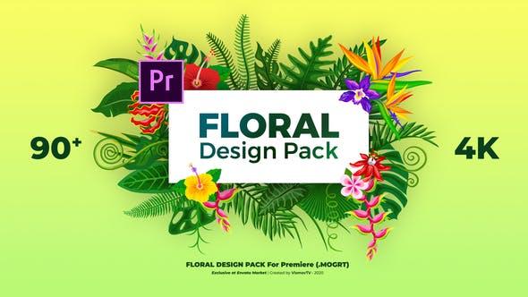 Pack Design Floral