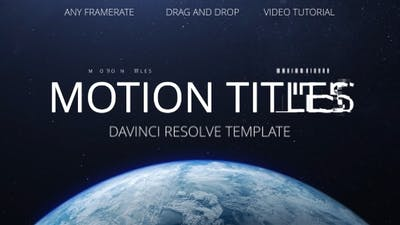 Motion Titles