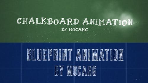 Chalkboard and Blueprint Presentation