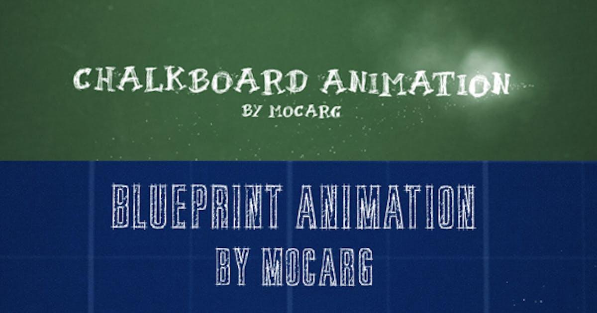 Download Chalkboard and Blueprint Presentation by Mocarg