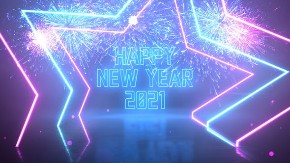Thumbnail for Neon Party New Year Wishes