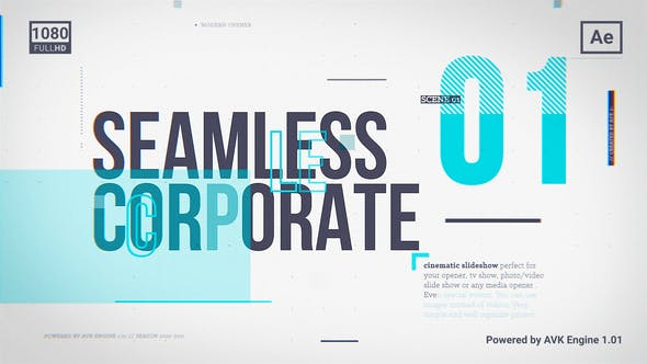 Thumbnail for Seamless Corporate Slideshow