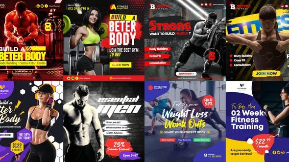 Thumbnail for Fitness Promo Instagram Post