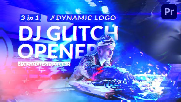 Thumbnail for Dj Glitch // Dynamic Logo Opener