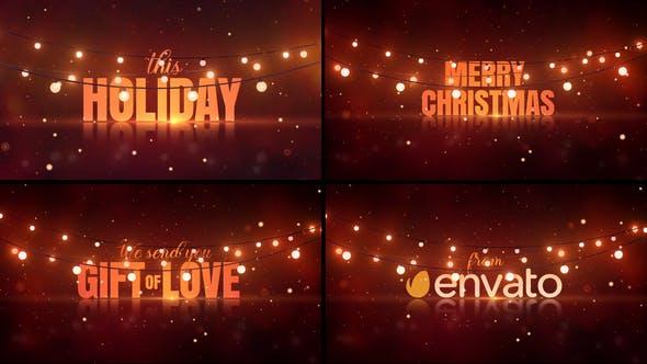 Christmas Lights Wishes