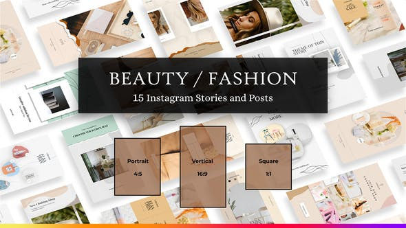 Beauty | Fashion Instagram Stories and Posts
