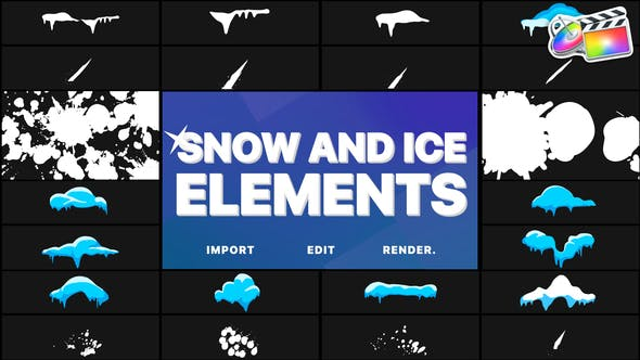 Snow And Ice Elements | FCPX