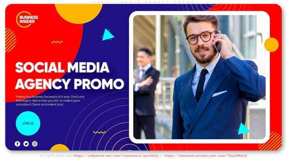 Thumbnail for Social Media Agency Promo