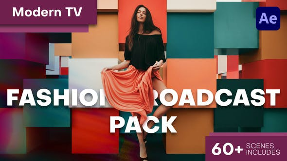 Thumbnail for Modern TV - Fashion Broadcast Pack