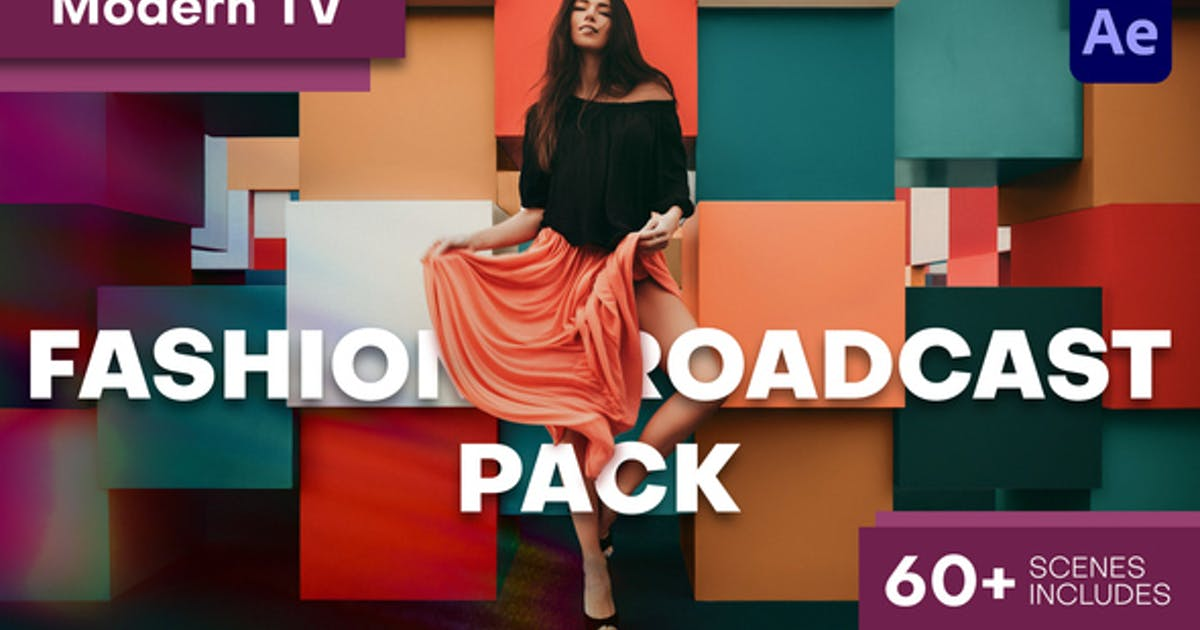 Download Modern TV - Fashion Broadcast Pack by vooofka