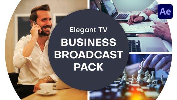 Elegant TV - Business Broadcast Pack