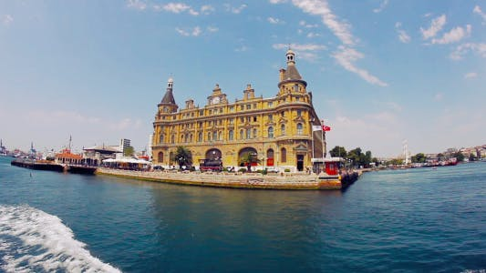 Thumbnail for Haydarpasa Train Station Istanbul Wide Angle