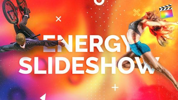 Thumbnail for Energy Slideshow | For Final Cut & Apple Motion