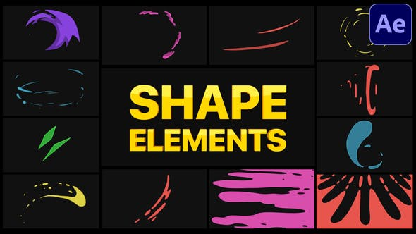 Thumbnail for Shape Elements   After Effects
