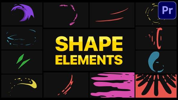 Thumbnail for Shape Elements   Premiere Pro MOGRT