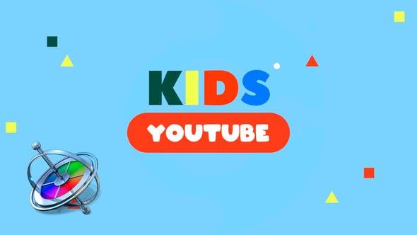 Thumbnail for YouTube Vlog pour enfant
