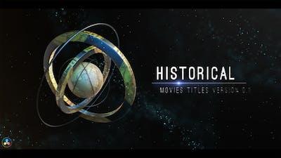 Historical Opener Titles